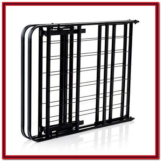 Lucid Foldable Metal Platform Bed Frame And Mattress Foundation Twin