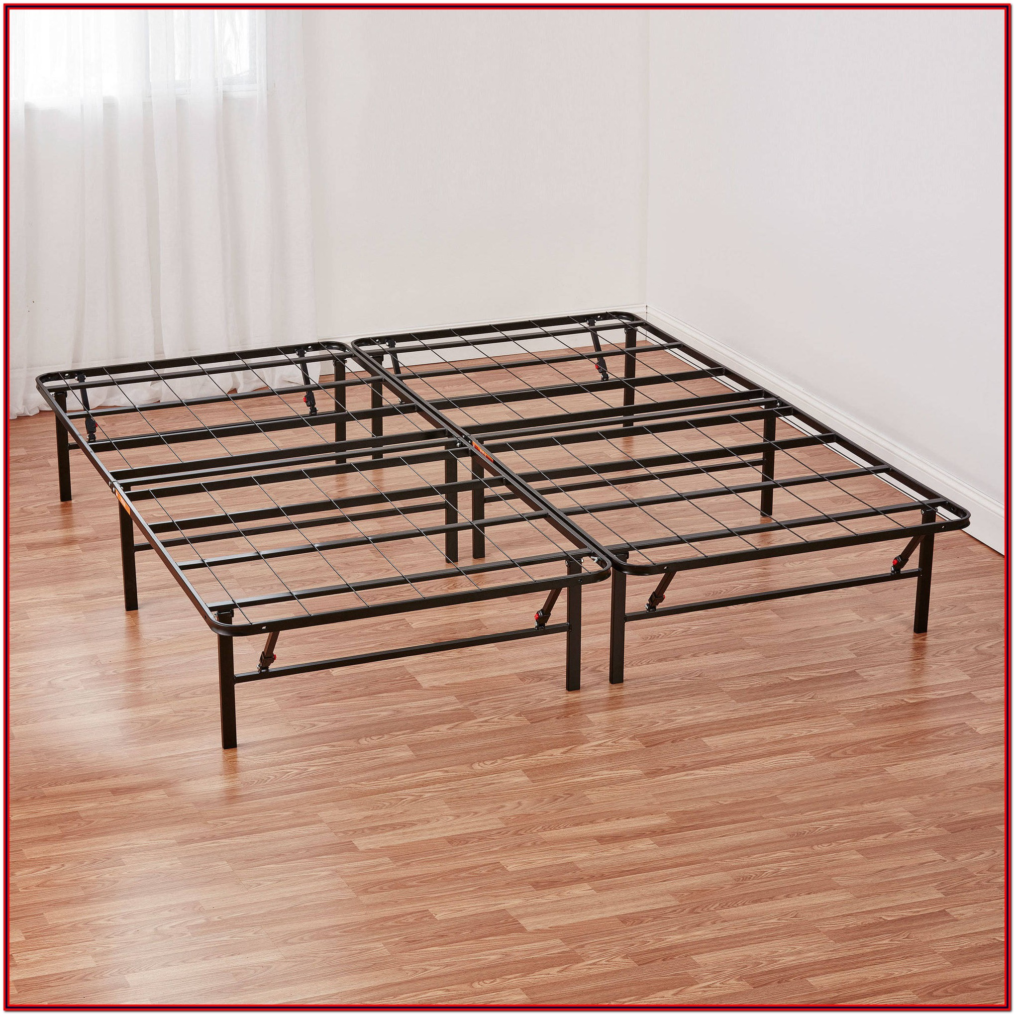Mainstays Innovative Metal Platform Base Bed Frame Twin
