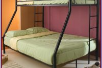 Metal Bunk Bed Twin Over Full Futon