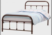 Metal Twin Bed Frame With Headboard