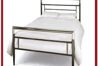 Modern Metal Platform Bed Frame Queen
