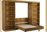 Murphy Bed With Desk And Shelves
