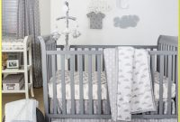 Pink White And Grey Cot Bedding