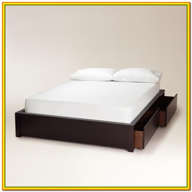 Queen Bed Frame With Drawers Cheap