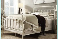 Queen Bed Frame With Headboard White