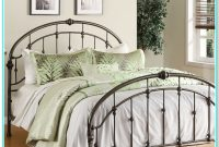 Queen Metal Bed Frame With Headboard And Footboard