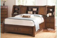 Queen Size Bed Frame With Headboard Storage