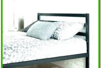 Queen Size Metal Bed Frame With Headboard Footboard Brackets