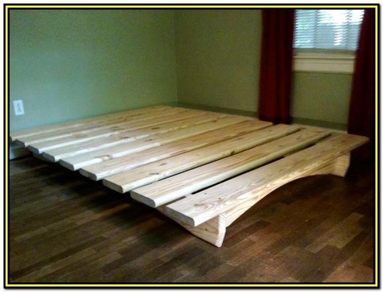 Queen Storage Bed Frame Blueprints