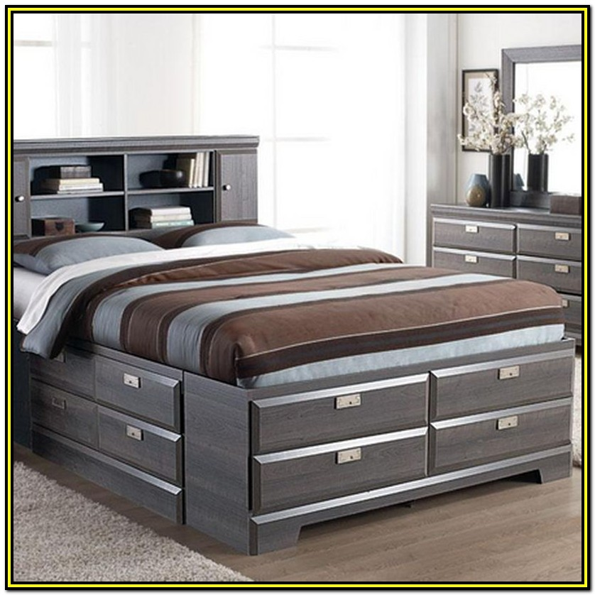 Queen Storage Bed Frame Canada