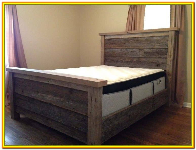Queen Wooden Bed Frame Plans