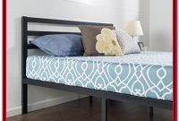 Quick Lock Metal Platform Bed Frame With Headboard