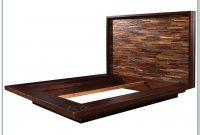 Reclaimed Wood Platform Bed Frame