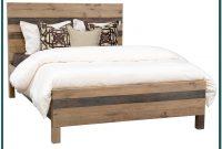 Reclaimed Wood Platform Bed King