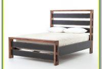 Reclaimed Wood Platform Bed No Headboard
