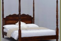Solid Wood White Queen Bed Frame