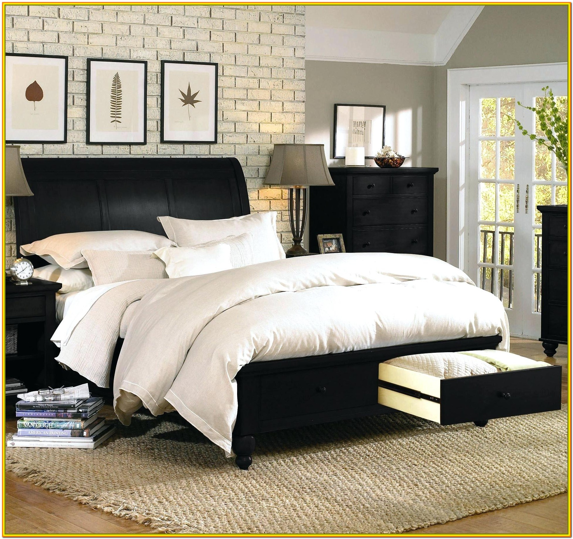 Super King Size Bed With Storage Drawers