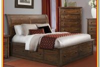 Super King Size Sleigh Bed With Storage