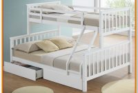 Triple Sleeper Bunk Bed With Storage Drawers
