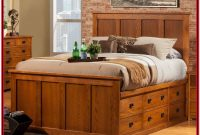 Twin Bed With Storage Drawers Frame Bookcase Headboard Platform Contemporary
