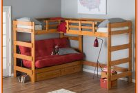 Twin Bunk Bed With Storage Underneath