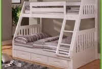 Twin Over Full Bunk Beds White