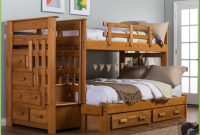 Twin Over Full Bunk Beds With Desk