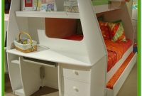 Twin Over Full Loft Bed With Desk