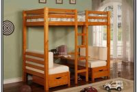Twin Size Loft Bed With Desk Underneath Plans