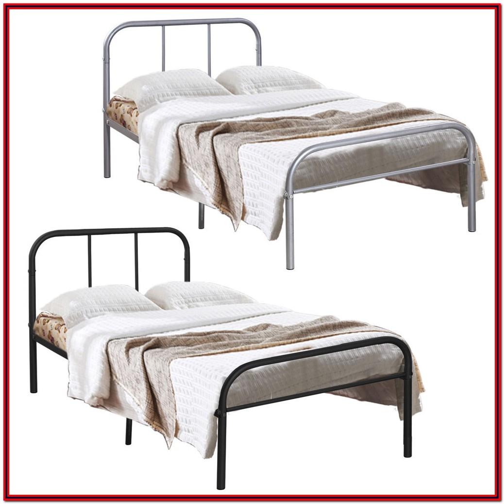 Twin Size Metal Platform Bed Frame