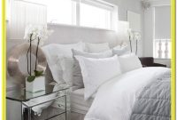White And Gray Bedding Bedroom