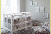 White And Gray Crib Bedding