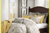 White And Gray King Bedding