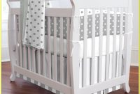 White And Grey Baby Cot Bedding