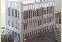 White And Grey Crib Bedding Sets