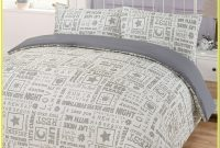 White And Grey Double Bedding Sets