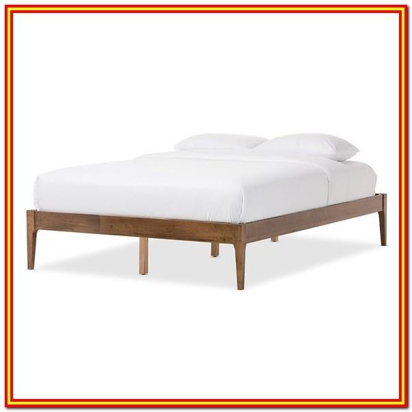 Wood Bed Frame Queen Amazon
