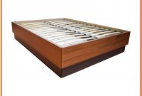 Wood Bed Frame Queen With Storage