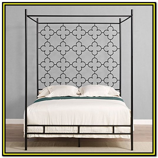 Wrought Iron Bed Frames Full Size