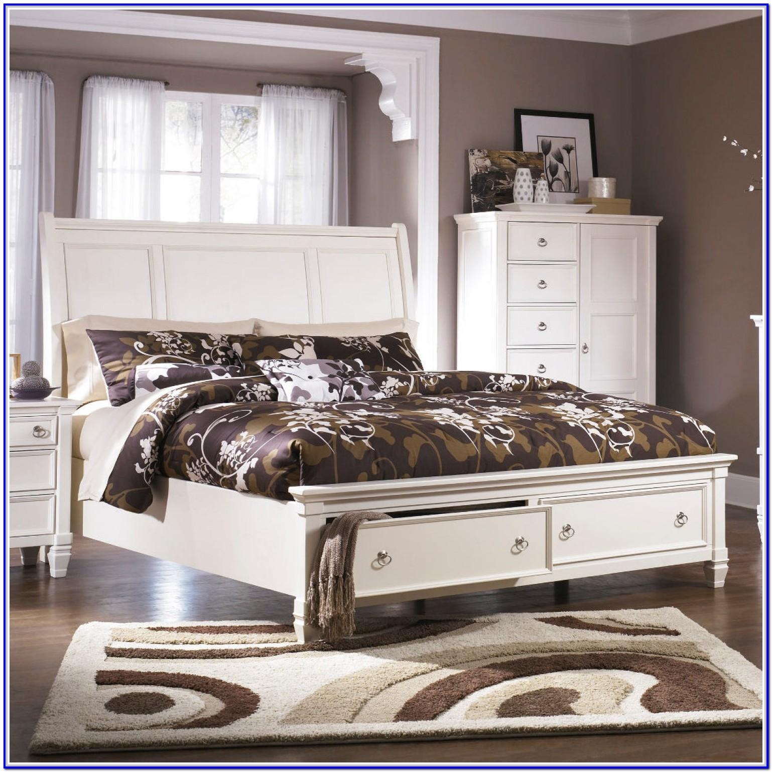 Ashley Furniture King Size Bed Frame