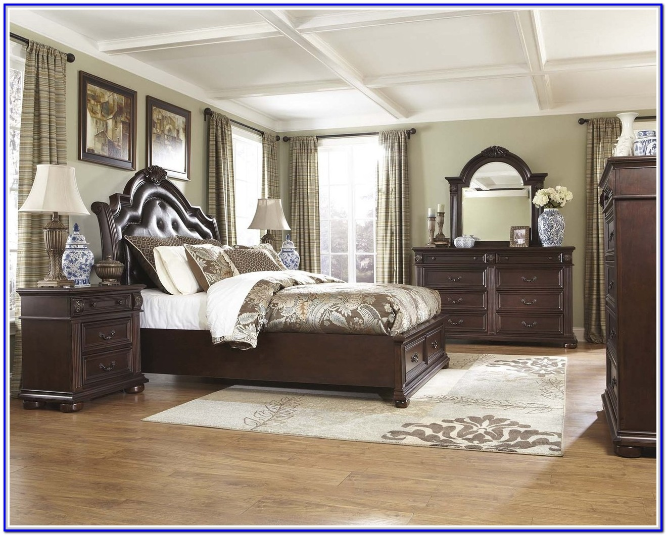 Ashley Furniture Sleigh Bed Set