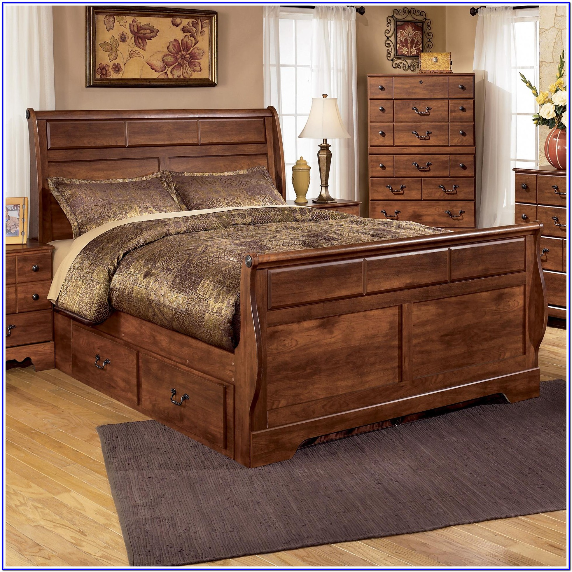 Ashley Furniture Storage Bed Queen