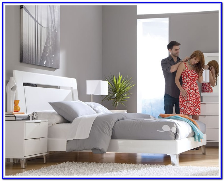 Ashley Furniture White Bed
