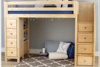 Ayres Twin Bunk Bed With Staircase
