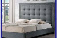 Baxton Studio Hirst Platform Bed King