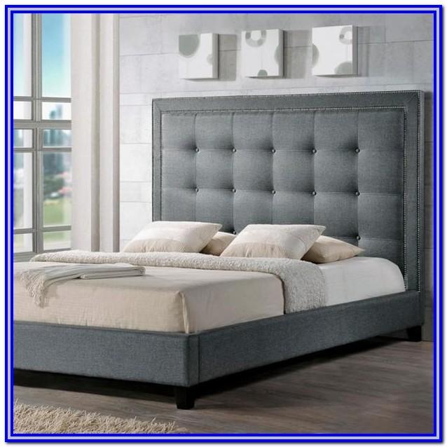 Baxton Studio Hirst Platform Bed King