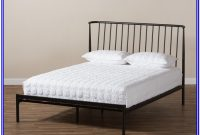 Baxton Studio Sabine Bed King