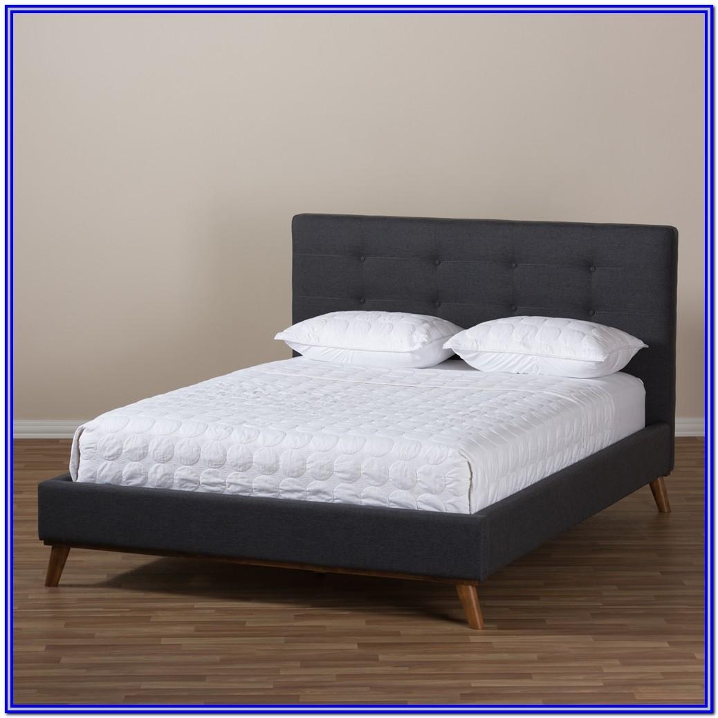Baxton Studio Valencia King Bed