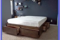 Bed With Storage Underneath Diy