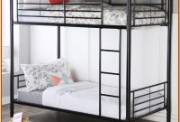 Black Metal Bunk Beds Twin Over Twin